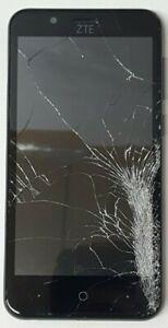 ZTE Blade Vantage Z839 16GB Black (Verizon) Cracked Glass Bad LCD Google Locked