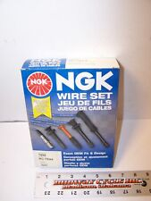 NGK NEW IGNITION SPARK PLUG WIRE CABLE SET TE64 1998 98 99 TOYOTA CHEVROLET lm