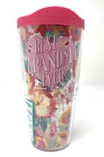 Tervis 24 oz. Best Grandma EverTumbler With Lid Tervis One Size Pink New