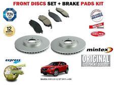für Mazda CX5 2.0 2.2 dT 2011 > nach Vorderbremse Scheibensatz + Bremsbelagsatz