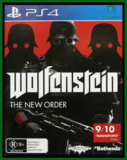 Wolfenstein: The New Order  PS4 GAME *** Brand New/Sealed & AU Stock***