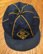 Vintage 1967 BOY SCOUTS Wolf Cub Uniform Hat Cap Vtg