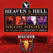 Heaven & Hell Neon Nights-Live At Wacken, CD /2010/11 TRX/Black Sabbath/neu OVP