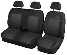 Maß Autositzbezüge Schonbezüge für VW Transporter T5 Bus 2003-16 Sitz + Sitzbank