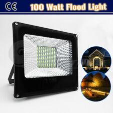 50W 100W LED Flood Light Outdoor Courtyard Landscape Path Garden Workshop Lamp