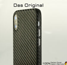 Carbon Cover Apple iPhone X - Das Original Case - bewährt seit iPhone 1