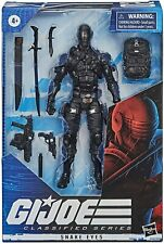 "GI Joe Classified Wave 1 Snake Eyes 6"" Figure NEW! CASE FRESH! YO JOE!  Hasbro"
