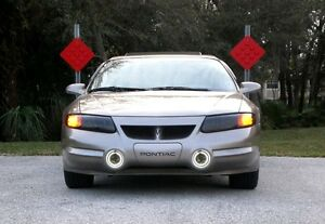 Angel Eye Fog Lamps Driving Lights Kit for 2000-2005 Pontiac Bonneville SSEi SLE