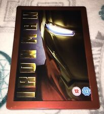 Iron Man Steelbook DVD Unsealed Watched Once