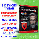 G DATA Internet Security 3 devices 1 year full edition Win Mac Android iOS GDATA