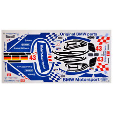 Arcos Decorativos 1:10 BMW Motorsport M3 GTR Alms 2001 Carson 69053 800012