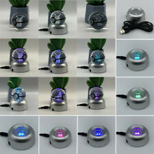 Pokemon K9 3D Crystal Ball Elf Night Light Home Decor RGB USB LED Table Lamp Toy