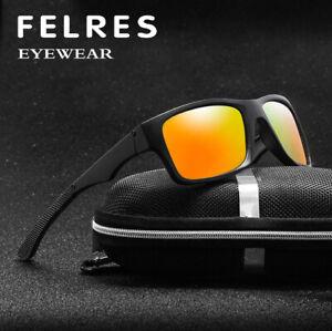 Men Polarized Sport Sunglasses Driving Fishing Night Vision UV400 Glasses Hot
