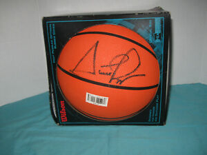 Scottie Pippen Signed Wilson Basketball Zone Buster