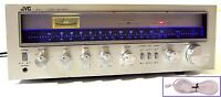 🔥【PRO SERVICED】JVC R-S5 50W Stereo Receiver! Phono,LED UPGRADE💥60-DAY GUARANTY