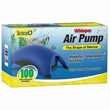 Tetra Whisper Air Pump 60-100 Gallon Fish Tank Water Quiet Powerful Aquariums