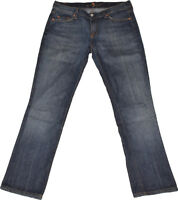 7 For All Mankind  Jeans  Gr. 30  Stretch  Used Look