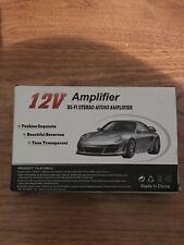 12v amplifier Hi-fi Stereo Audio NIB