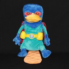 """Disney Store Perry Mission Marvel Phineas Ferb Plush 13.5"""" Stuffed Plush Toy New"""