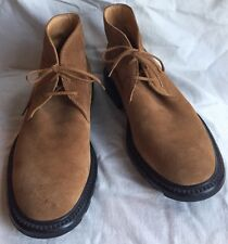 Tod's Tan Suede Desert/Chukka/Ankle Boots US Men's~8.5~Italy