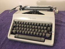 Vintage Olympia SM9 Portable Manual Typewriter Metal Casing