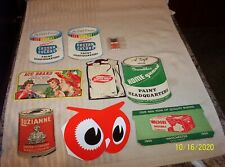 Vintage Sewing Needle Advertising Booklets - Luzianne Coffee - Red Owl Etc.