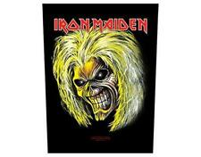 OFFICIAL LICENSED - IRON MAIDEN - KILLERS HEAD SEW ON BACK PATCH METAL EDDIE