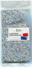 1000 Euro in Shredded Paper Money Bag Currency Collectible Fun Item