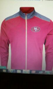 Majestic San Francisco 49ers Scarlet Team Tech Full-Zip Jacket - NFL - Size S