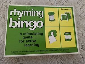 1978 Trend Rhyming BINGO game for Up To 36 players