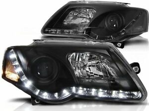 VOLKSWAGEN PASSAT B6 2005 2006 2007 2008 2009 2010 LPVWC2 HEADLIGHTS LED