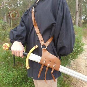 LARP Sword Baldric with Shoulder Strap