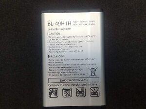 LG BL-49H1H 1470mAh Replacement Battery for Verizon LG VN220 Exalt