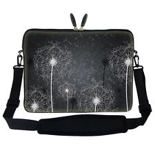 "17.3"" Laptop Computer Sleeve Case Bag w Hidden Handle & Shoulder Strap 2900"