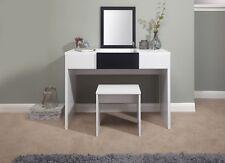 Marlow Vanity Dressing Table With Stool U0026 Lift Up Mirror Dresser Bedroom  Storage