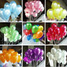 100PCS Colorful Pearl Latex Balloon Celebration Party Wedding Birthday 10 inch
