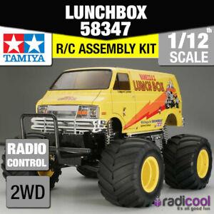 58347 TAMIYA LUNCH BOX 1/12th R/C KIT RADIO CONTROL 1/12 TRUCK NEW IN BOX!