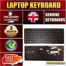 HP 840 G1 UK Backlit Keyboard 731179-031 736654-031 NSK-CP2BV 0U 9Z.N9JBV.20U