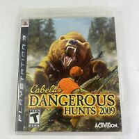 Cabela's Dangerous Hunts 2009 (Sony PlayStation 3 PS3, 2008) CIB Complete EUC