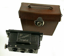 VOIGTLÄNDER Stereflektoskop Stereo Heliar 65 65mm 45x107mm 1923 top condition