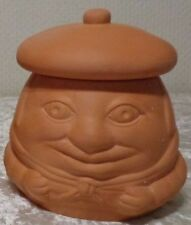 Knoblauchtopf Keramik / Ton - Franzose mit Baskenmütze * NEUWERTIG