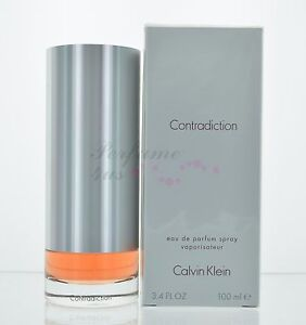 Contradiction by Calvin Klein for Women 3.4 oz Eau de Parfum Spray NIB Sealed