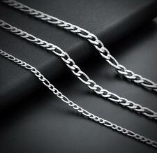 5 Meter Lot stainless steel Fashion 4mm NK  figaro Chain Jewelry finding Chain