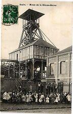 CPA ANZIN .- Mines de la bieuse - borne  (190521)