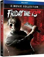 Friday The 13th Complete 8 Movie Collection SEALED BLURAY UK REGION FREE BOXSET