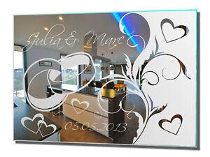 Motivspiegel Hochzeit 11 Hochzeitsgeschenk Geschenk Wandbild Wedding Love