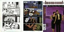 Howard Chaykin SIGNED American Century Original Art Page DC Vertigo Lan Medina