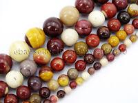 Natural Moukaite Jasper Gemstone Round Beads 16'' 2mm 3mm 4mm 6mm 8mm 10mm 12mm