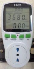 MISURATORE ELETTRONICO DI CONSUMO ENERGETICO RILEVATORE ENERGIA CORRENTE MAX 16A