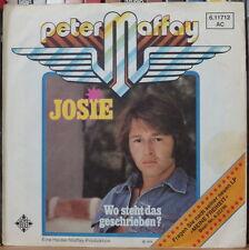 "PETER MAFFAY JOSIE 45t 7"" GERMAN PRESS SP"